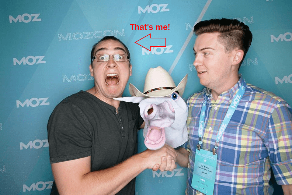 Tylor and Bil reunited at Moz