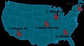 Best Cities to Get an SEO Job